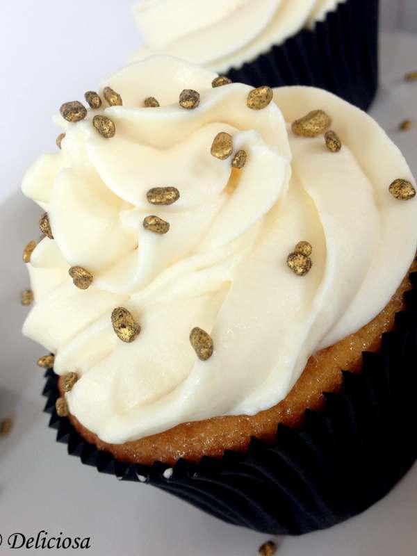 Baileys-es cupcake mandulával