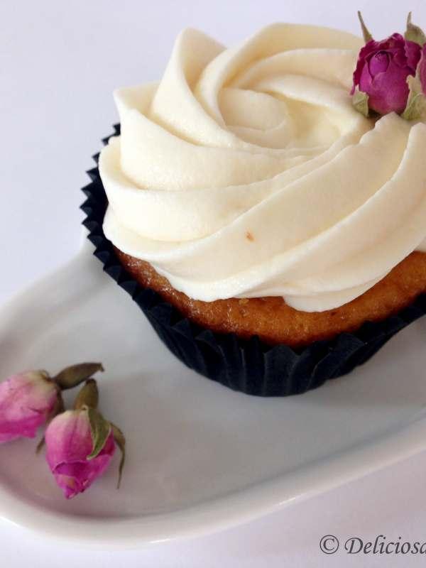 Bailey's-es cupcake