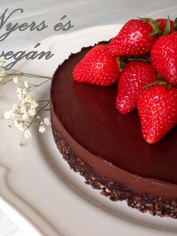 nyers vegán bownie – csokitorta