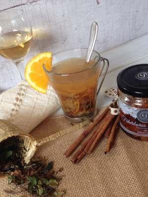 fehérboros körtés tea