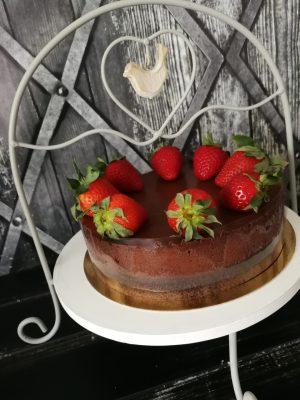 paleo epres csokimousse
