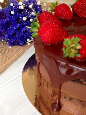 nutella eper belga csokitorta