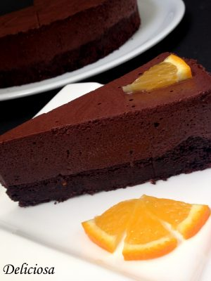 Paleo narancsos csokimousse