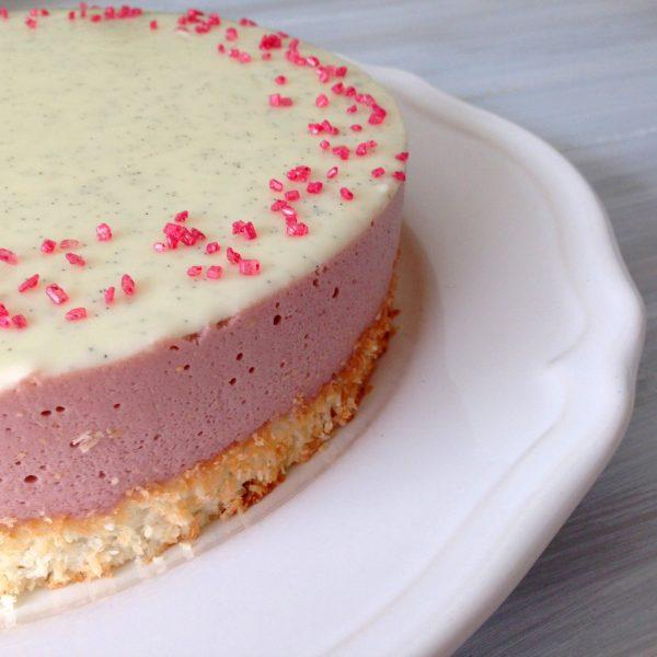 pezsgő eper fehércsoki_paleo torta
