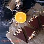 nyers és vegán marcipános narancsos csokoládé
