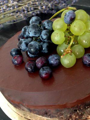 nyers és vegán narancsos brownie/csokitorta