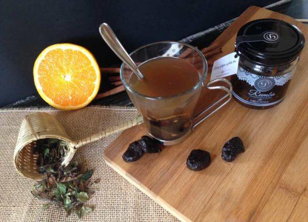 fahéjas szilvás tea