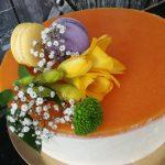 Citromos túrómousse torta