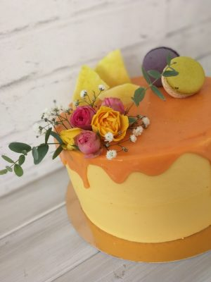 Mangómousse torta