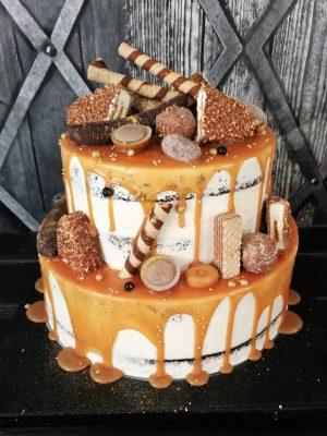 emeletes kinder maxi king torta