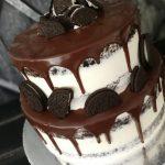 Emeletes oreo keksz torta