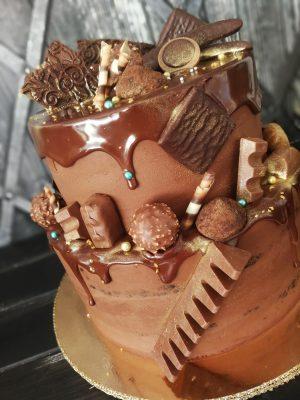 Csokifüggő csokitorta